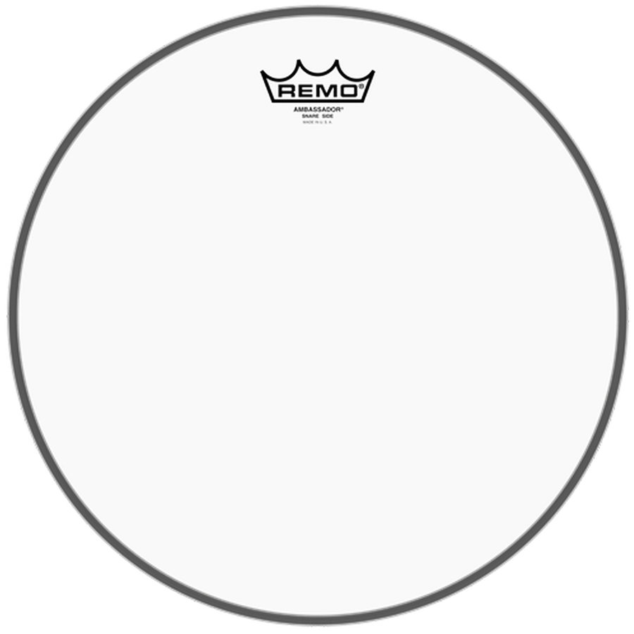 View larger image of Remo Ambassador Clear Snare Side No Collar Drumhead - 14
