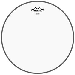 Remo Ambassador Clear Snare Side No Collar Drumhead - 14
