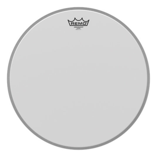 View larger image of Remo Ambassador Coated Bass Drumhead - 16