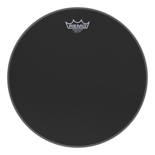 View larger image of Remo Ambassador Ebony Snare Side No Collar Drumhead - 14