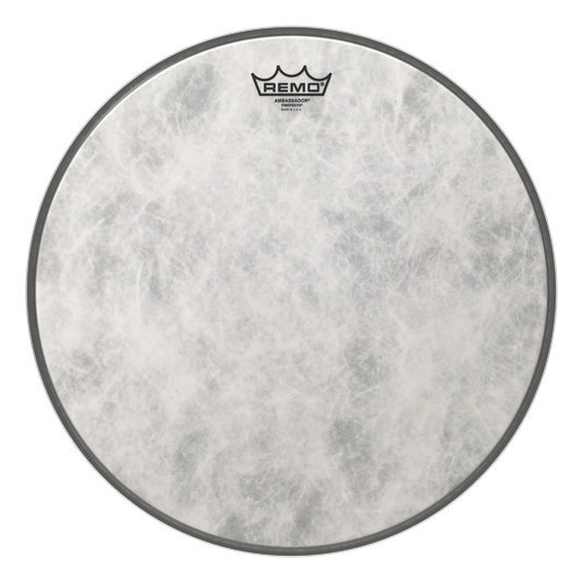 View larger image of Remo Ambassador Fiberskyn Bass Drumhead - 16