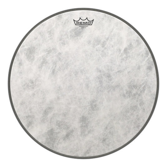 View larger image of Remo Ambassador Fiberskyn Bass Drumhead - 18