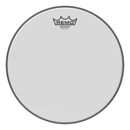 View larger image of Remo Ambassador Smooth White Bass Drum Head - 16
