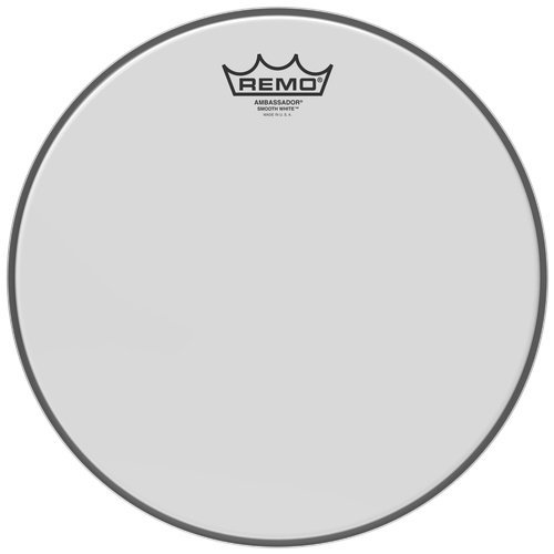View larger image of Remo Ambassador Smooth White Drum Head - 10