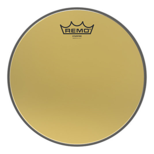 View larger image of Remo Ambassador Starfire Drumhead - Gold, 14