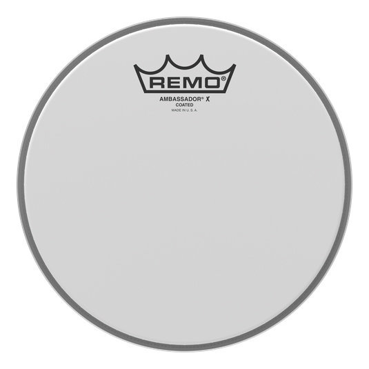 View larger image of Remo Ambassador X Coated Drumhead - 10