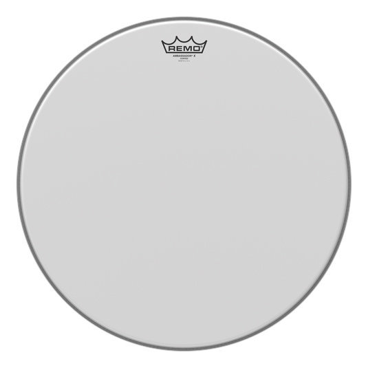 View larger image of Remo Ambassador X Coated Drumhead - 18