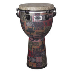 Remo Apex Djembe Drum - Red Kinte, 12