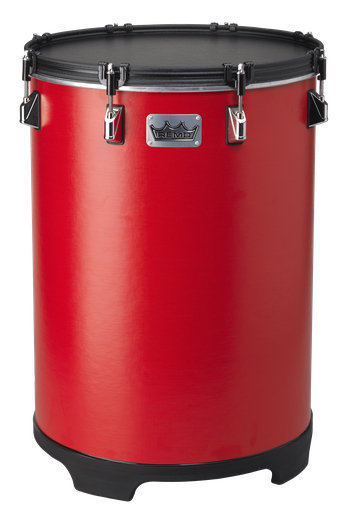 View larger image of Remo Bahia Bass Drum - Gypsy Red, 14