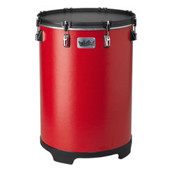 Remo Bahia Bass Drum - Gypsy Red, 14
