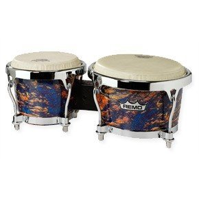 View larger image of Remo BG-7821-SD Bongo Set - 7/8.5 Valencia Curved Hoo