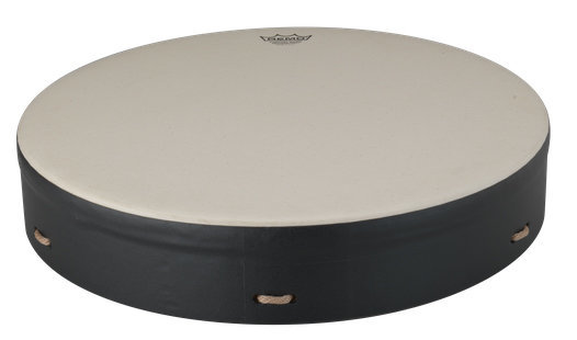 View larger image of Remo Buffalo Comfort Sound Drum - Black, 16