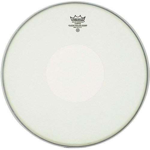 View larger image of Remo Controlled Sound Coated Drumhead - with Clear Dot, 14