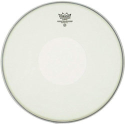 Remo Controlled Sound Coated Drumhead - with Clear Dot, 14