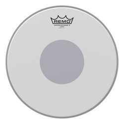 Remo Controlled Sound X Coated Black Dot Snare Drumhead - Bottom Black Dot, 12