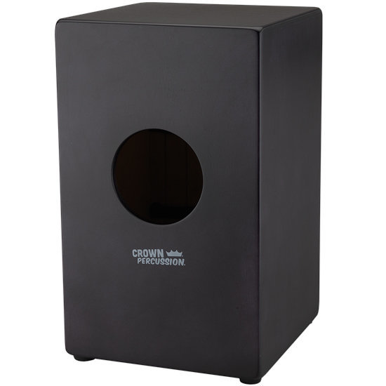 View larger image of Remo Crown Percussion Cajon - Black