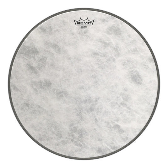 View larger image of Remo Diplomat Fiberskyn Bass Drumhead - 18