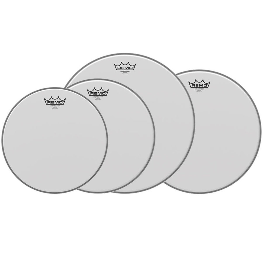 View larger image of Remo Drum Head ProPack, AMBASSADOR® COATED, PP-0112-BA