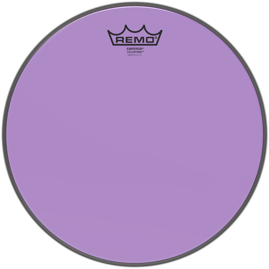 View larger image of Remo Emperor Colortone Drumhead - 12, Purple