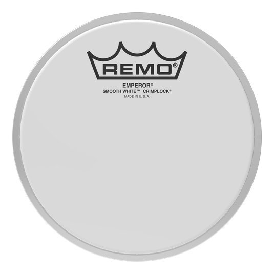 View larger image of Remo Emperor Smooth White Crimplock Tenor Drumhead - 8