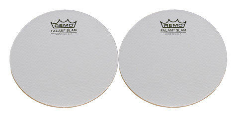 View larger image of Remo Falam Slam Drum Patches - 4, 2 Pack