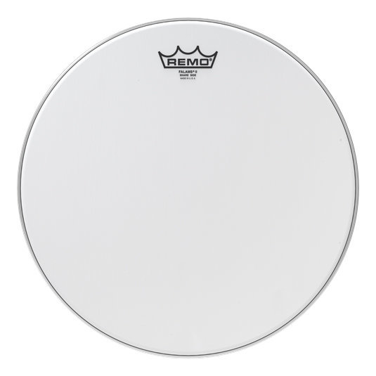 View larger image of Remo Falams Smooth White Snare Side Drumhead - 14