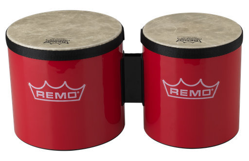 View larger image of Remo Festival Bongo Drum - Red, 6-7