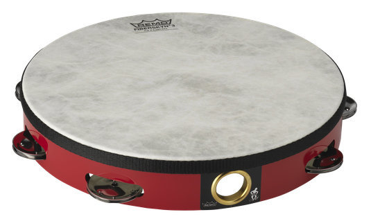 View larger image of Remo Fiberskyn Tambourine - Quadura Red, 10