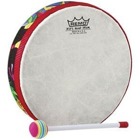 View larger image of Remo KD-0112-01 Individual Hand Drum with Mallet - 1x12