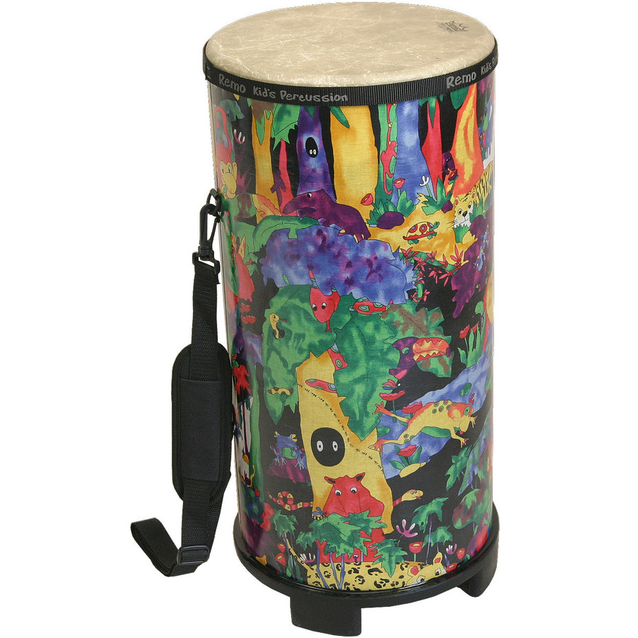 """View larger image of Remo Kids Percussion Konga - 15""""x6"""", Rain Forest"""