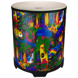 """Remo Kids Percussion Gathering Drum - 21""""x18"""", Rain Forest"""