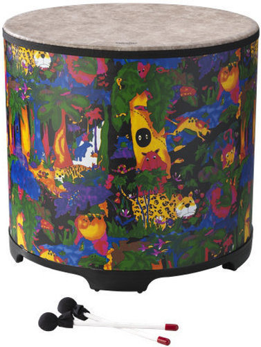 """View larger image of Remo Kids Percussion Gathering Drum - 21""""x22"""", Rain Forest"""