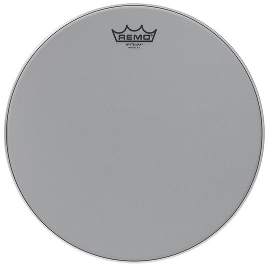 View larger image of Remo KS-2613-00 White Max Drum Head - Batter - Crimped - Smooth White - 13