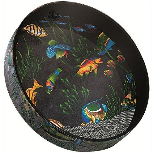 View larger image of Remo Ocean Drum - Fish Graphic, 16