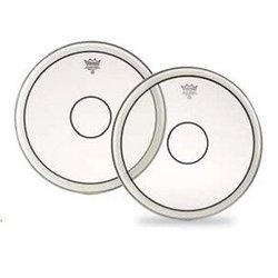 Remo P2-0314-C2 Powerstroke 4 Head Drum - Batter - Clear - Clear Dot on Top - 14