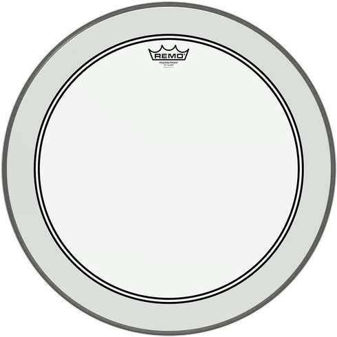 View larger image of Remo P3-1320-BP Powerstroke 3 Bass Head - Clear - 20