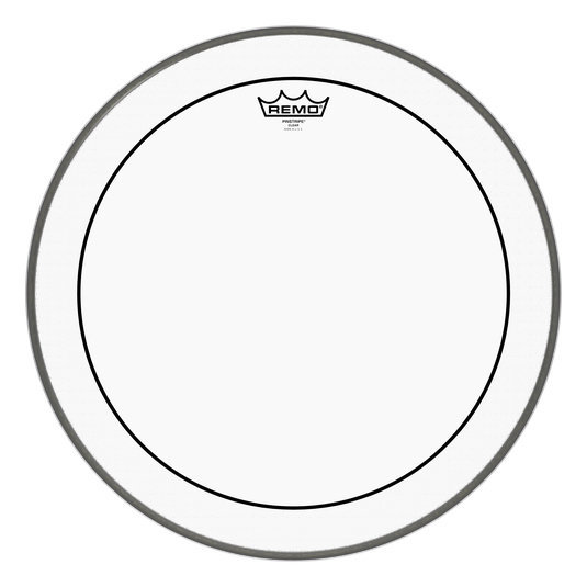 View larger image of Remo Pinstripe Clear Bass Drumhead - 22