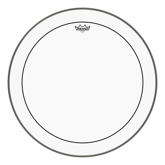 View larger image of Remo Pinstripe Clear Bass Drumhead - 24