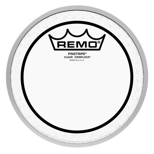 View larger image of Remo Pinstripe Clear Crimplock Tenor Drumhead - 12