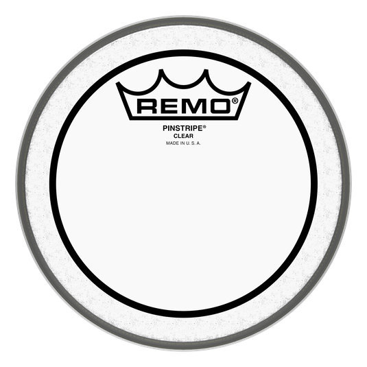 View larger image of Remo Pinstripe Clear Drumhead - 8