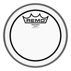 Remo Pinstripe Clear Drumhead - 8