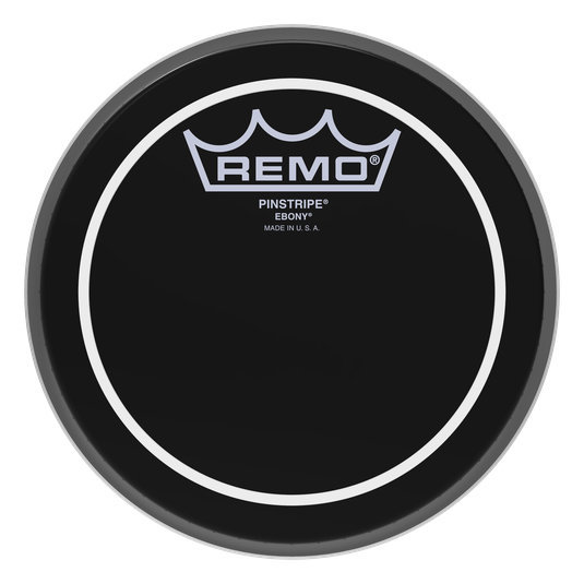 View larger image of Remo Pinstripe Ebony Drumhead - 18