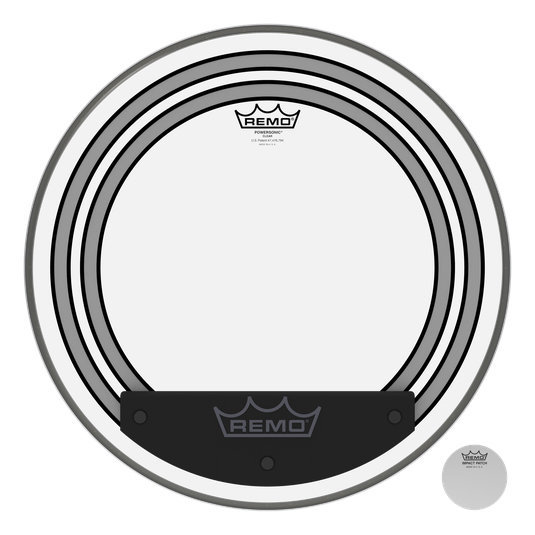 View larger image of Remo Powersonic Clear Bass Drumhead - 18