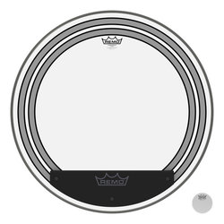 Remo Powersonic Clear Bass Drumhead - 24