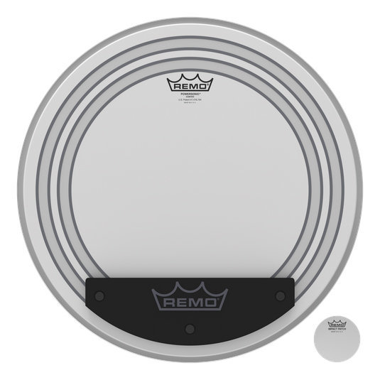 View larger image of Remo Powersonic Coated Bass Drumhead - 18