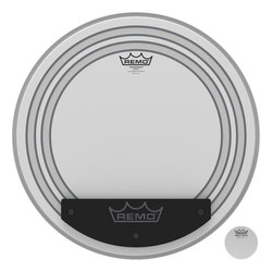 Remo Powersonic Coated Bass Drumhead - 24