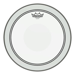 Remo Powerstroke P3 Clear Drumhead - Top Clear Dot, 14
