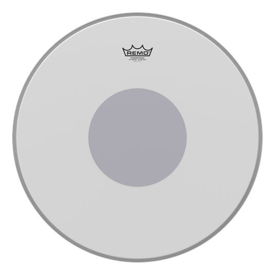 View larger image of Remo PowerStroke P3 Coated Black Dot Bass Drumhead - Bottom Black Dot, 20