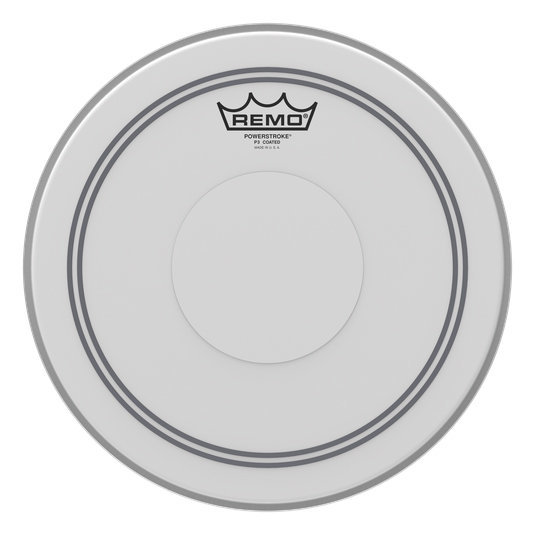 View larger image of Remo Powerstroke P3 Coated Drumhead - Top Clear Dot, 12