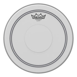 Remo Powerstroke P3 Coated Drumhead - Top Clear Dot, 12